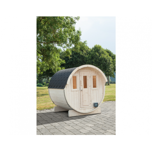 Holzland Filderstadt GmbH » WOLFF FINNHAUS Saunafass 220 montiert DS ...